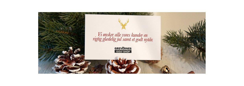 Glædelig Jul fra Grevernesgolfshop.dk